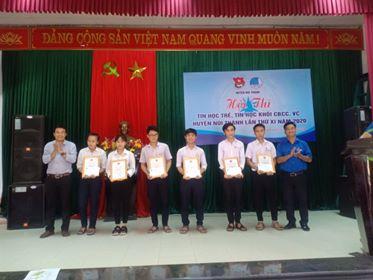 Hội thi tin học trẻ huyện Núi Thành lần thứ 11 năm 2020 và Tin học khối CBCC trẻ lần thứ 3